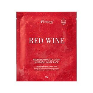 Гидрогел. маска д/лица RED WINE REGENERATING SOLUTION HYDROGEL MASK PACK, 1шт