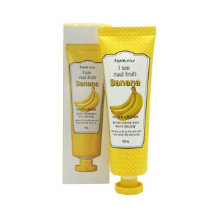 Крем для рук с экстрактом банана I Am Real Fruit Banana Hand Cream