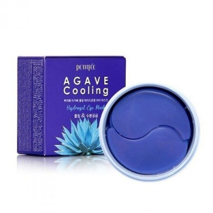 Патчи Agave Cooling Hydrogel Eye Mask, 60 шт