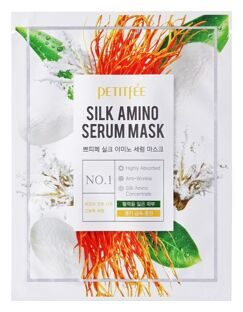 Лифтинг-маска для лица с протеинами шелка Silk Amino Serum Mask