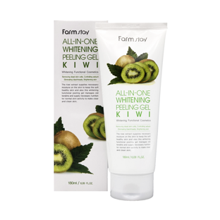 Гель c экстрактом киви All In One Whitening Peeling Gel Cream Kiwi